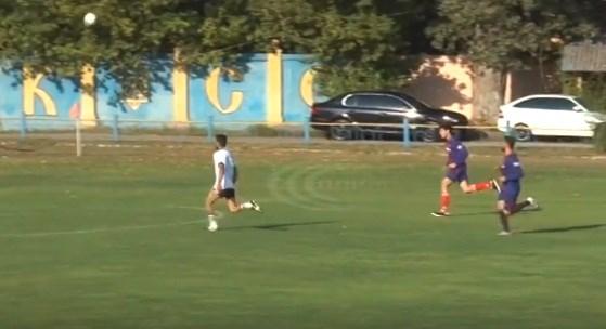 Ромы из Славянска и Харькова вышли на футбольное поле после 10-летнего перерыва