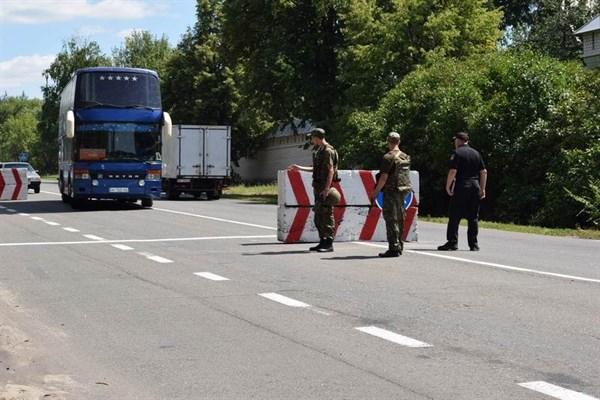 В Славянской оперативной зоне новый блокпост