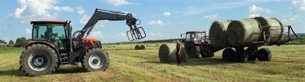 Как выбрать фронтальный погрузчик на трактор