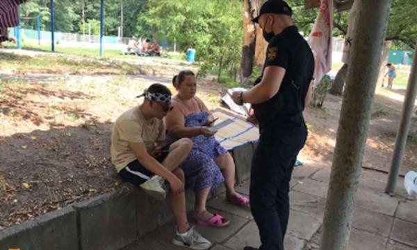 Отдыхающим на озерах Славянска напомнили о правилах безопасности