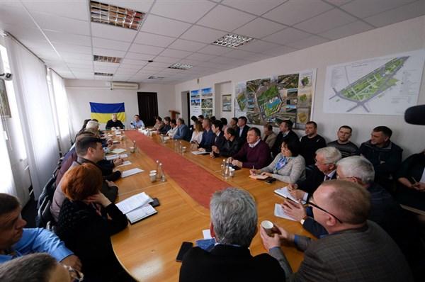 О чем предприниматели Славянска общались с Жебривским: о кредитах, электроэнергии и молоке