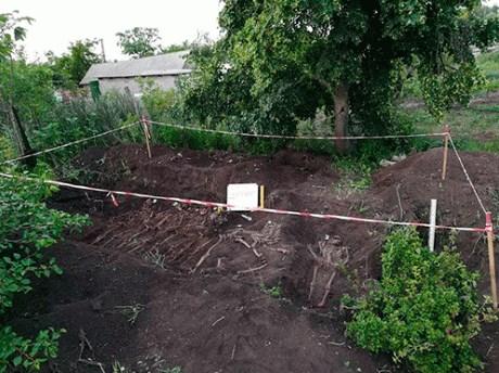В селе возле Славянска обнаружили останки 10 солдат Вермахта, погибших в годы Второй мировой войны