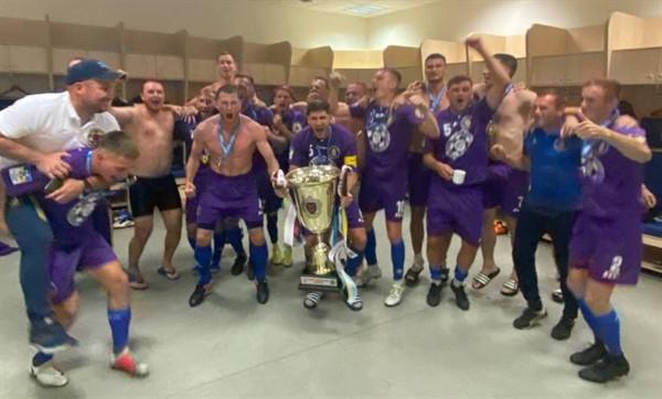 ФК «Славянск АТО» стал обладателем Кубка защитников Украины