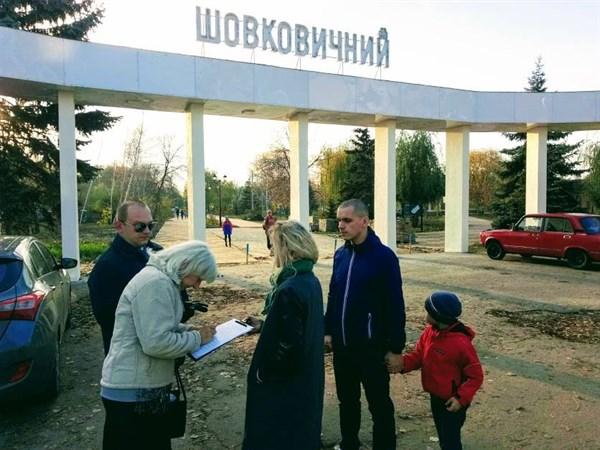 Жители Славянска требуют от власти отчета по растратам на парк Шелковичный