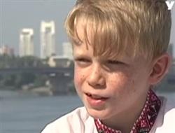 Второклассник из Славянска заработал в Киеве 2 тысячи гривен: его мечта купить саксофон