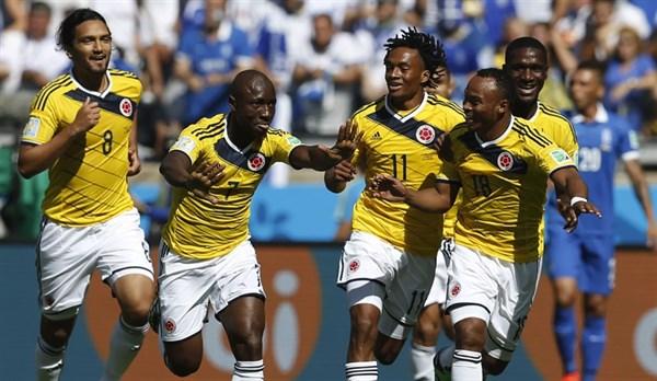 Колумбия - Катар. 2-й тур группового этапа Кубка Америки