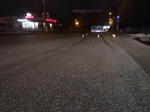 На Черевковке водитель Волги сбил на переходе пешехода