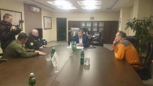 Семен Семенченко заявил, что был на Славянской ТЭС и собственными глазами видел, что угля хватит до конца марта