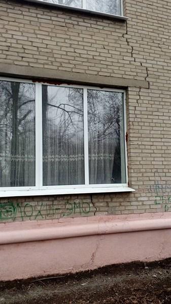 Жители Славянска указывают на необходимость обследования ОШ №9, иначе она «скоро рухнет»