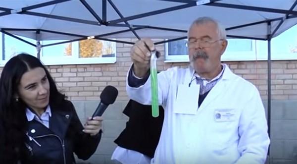 На научном пикнике в Звановке раскрывали секреты физики, химии и античных ремесел