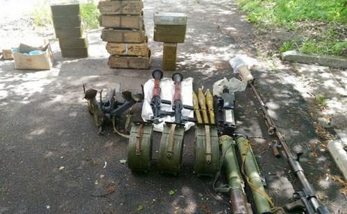 В Славянске СБУшники нашли тайник с гранатометами и передали его в одно из подразделений украинской армии