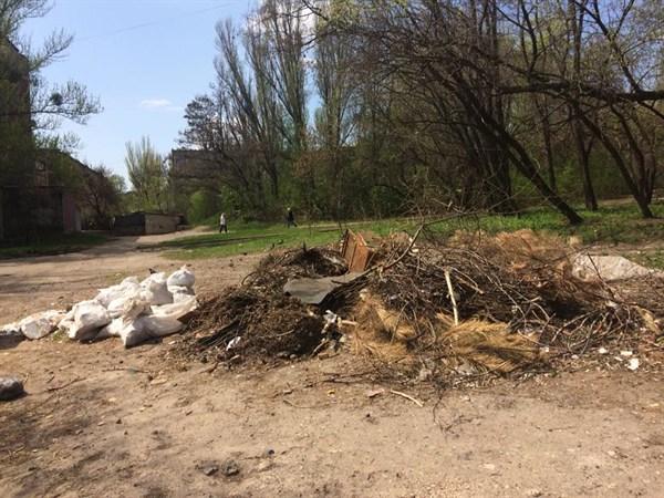 «Это мы засранцы-славянцы»: как жители отреагировали на фото мусора и листвы на улицах города
