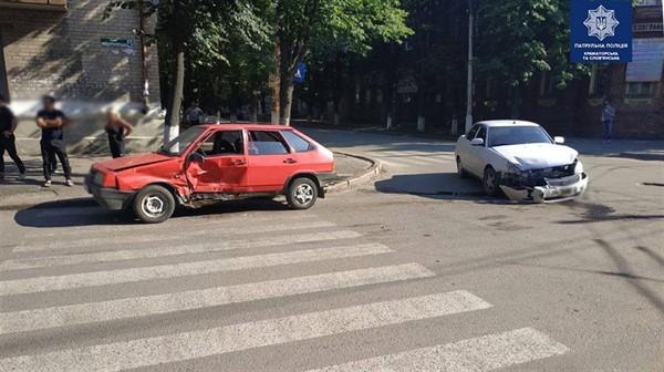 Три ДТП за сутки: на проблемном перекрестке Славянска необходим светофор