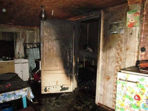 В частном доме по улице Андреевской в результате пожара погибло два человека