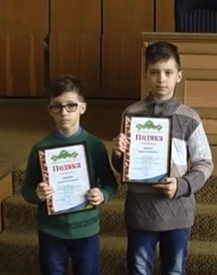 Юные братья Ляшенко из Славянска стали чемпионами международных соревнований по мотокроссу и получили грамоты горсовета
