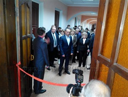 В санатории «Славянский» открыли второй этаж ортопедического отделения