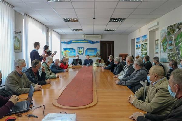 В канун 35-летия трагедии на ЧАЭС в Славянске наградили ликвидаторов аварии