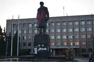В Славянске хотят создать несколько арт- объектов из демонтированного памятника Ленина