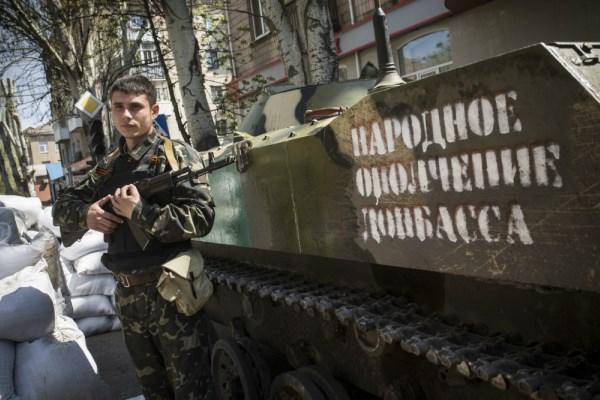 В 2014 году бомжи, пьяницы и безработные примкнули к ополчению в Славянске - боевик Махно