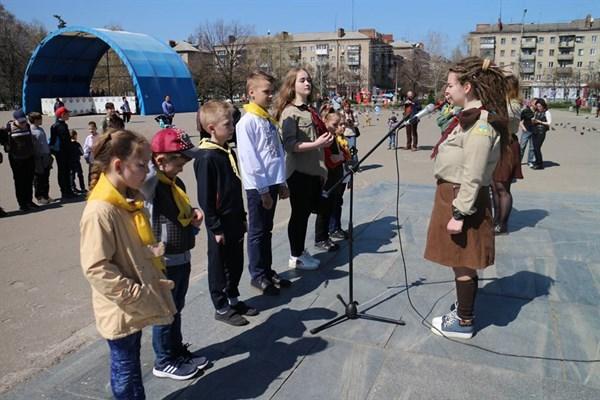 У Слов'янську відбулася урочиста подія, приурочена до 106 річниці «Дня Першої пластової присяги»