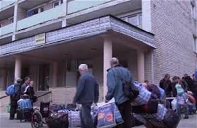 Переселенцам, проживающих в Славянске, городские власти предоставят временное жилье