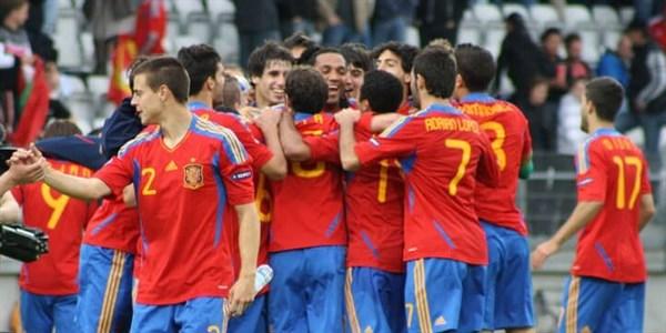 Испании U21 - Бельгии U21