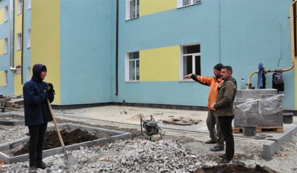 В Славянске близится к завершению реконструкция горбольницы