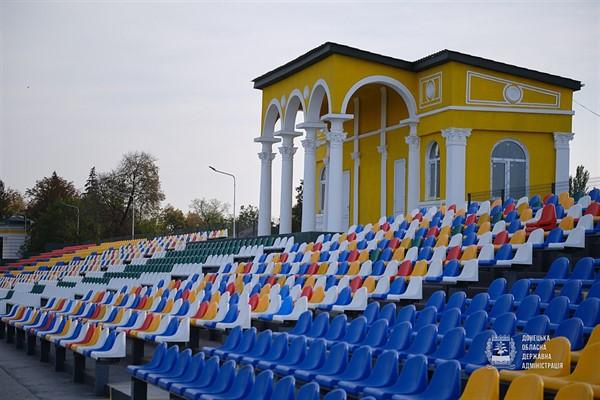 Стадион имени Скиданова в Славянске обрел новую жизнь