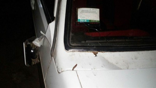 В Святогорске ВАЗ-2109 совершил наезд на двух нетрезвых пешеходов