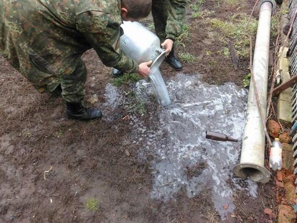 В славянском Майдане самогон разливался рекой (ФОТОФАКТ)