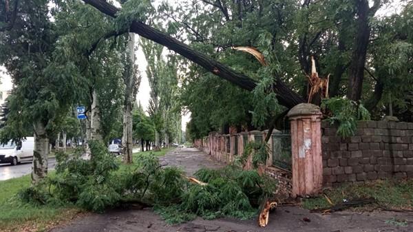 Очередная стихия принесла Славянску немало бед
