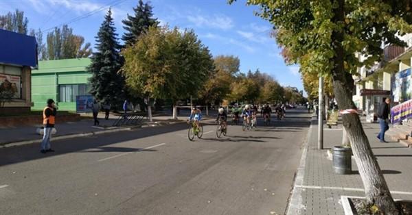 Большой триатлон: в Славянске перекрыты центральные улицы