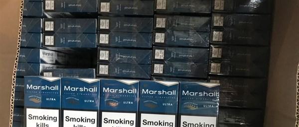 В Славянске налоговики изъяли почти 65 тысяч пачек контрафактных сигарет