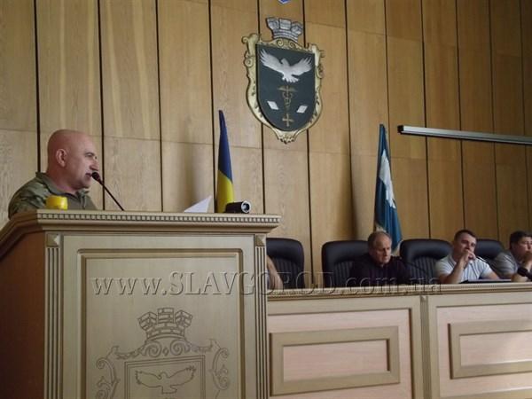 Мэр Славянска ответил Василию Хоменко: выпустите туалетную бумагу с собственным изображением