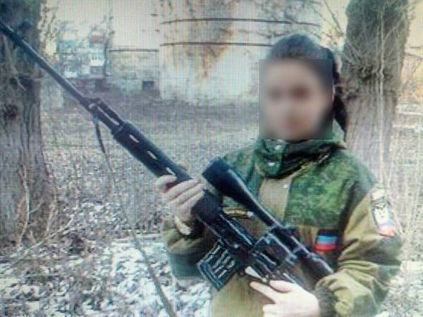 «Поняла, что никому не нужна»: в Славянске задержали 20-летнюю девушку, которая ранее с сожителем служила в «ДНР»