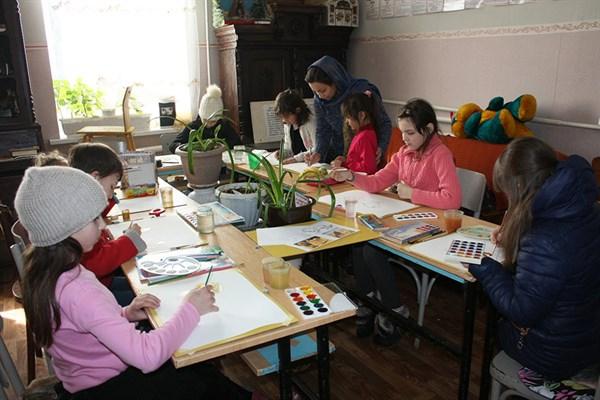 В поместье «Вилла Мария» открыли студию живописи