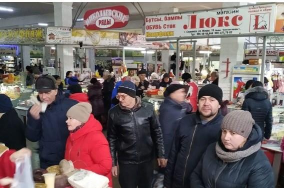 Цены на рынке Славянска: почем 22 декабря продавали овощи, фрукты, рыбную и мясную продукцию