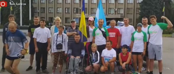 «Настрой боевой, сил достаточно»: из Славянска марафонцы намерены добежать до Берлина