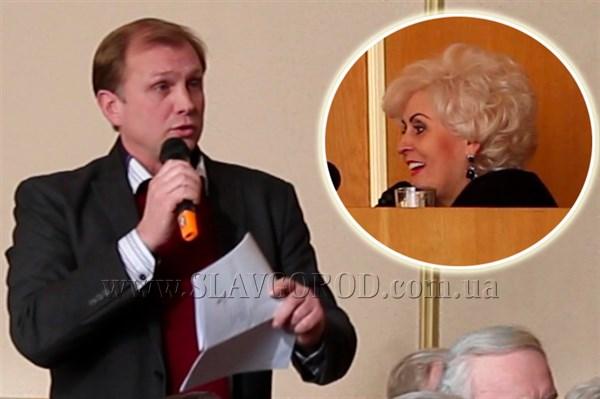 Насмешил: депутат городского совета Олег Зонтов вопросом о финансировании общественных организаций насмешил городского голову Славянска (ВИДЕО)