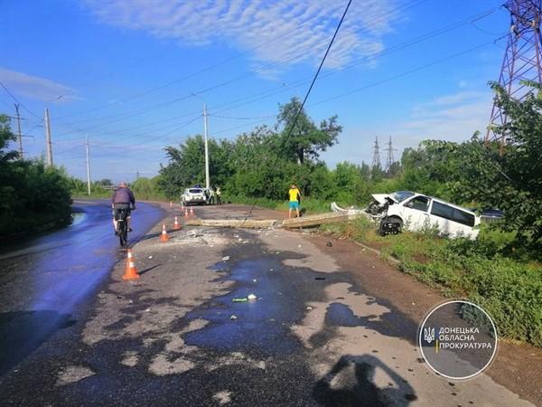 Итоги ДТП в Славянске: погибший и четверо пострадавших