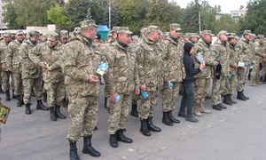 День защитника Украины в Славянске