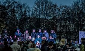 Рождественские гуляния на площади: фоторепортаж Петра Гуляев