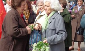1 мая в Славянске состоялся митинг