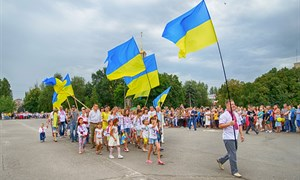 Как Славянск отпраздновал День независимости