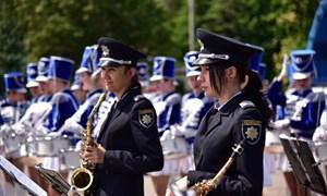 Как праздновали годовщину со дня создания патрульной полиции Славянска и Краматорска