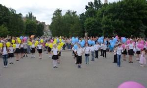 День защиты детей 2015 в Славянске.