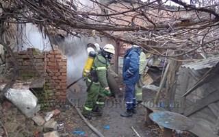 Пожар по ул. Ленина