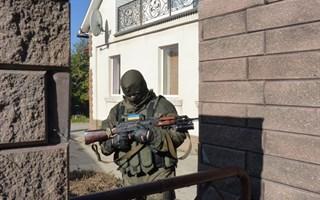 Обыск в доме депутата городского совета Славянска Вадима Ляха